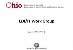 billing, medicaid, ohio, redesign